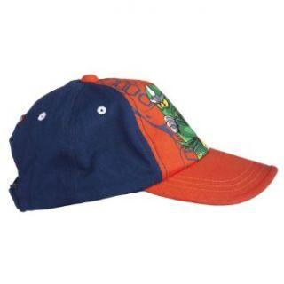 Lego Wear Alec Ninjago Boys Woven Cotton Cap Hat Orange 4 Years Clothing
