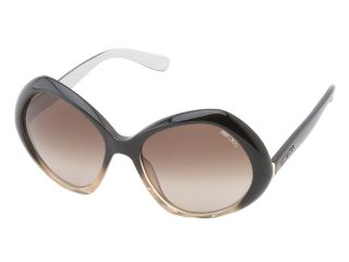 Jimmy Choo Angy/S Black Nude/Brown Gradient