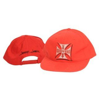West Coast Choppers Jesse James Red Adjustable Hat : Sports Fan Baseball Caps : Sports & Outdoors