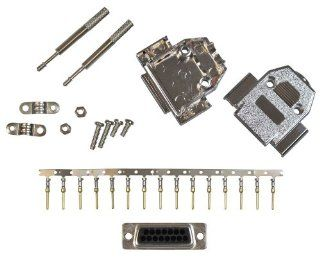 Allen Tel Products ATD15MCKS 15 Pin, Male Shielded Connector Kit   Electrical Cables