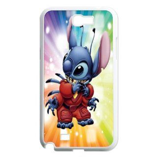 Mystic Zone Customized Stitch Samsung Galaxy Note 2(N7100) Case for Samsung Galaxy Note II Hard Cover Cartoon Fits Case WK0094 Cell Phones & Accessories