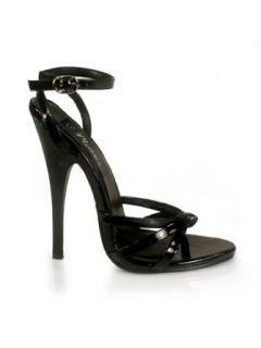 Sexy Black Strappy High Heel Sandal   10 Clothing