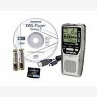 Olympus DS 2400   Digital voice recorder   1 GB SD Card Electronics