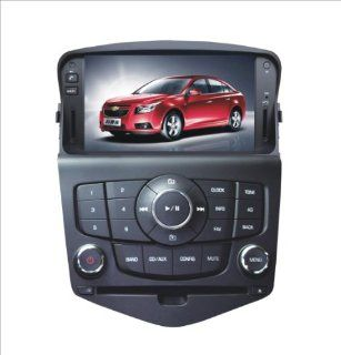 IN DASH OEM REPLACEMENT RADIO DVD Gps NAVIGATION HEADUNIT FOR Chevrolet Cruze WITH REAR VIEW CAMERA  In Dash Vehicle Gps Units  GPS & Navigation