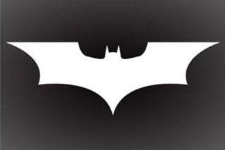 "BATMAN DARK KNIGHT LOGO DECAL STICKER 6"" X 3"" Automotive"