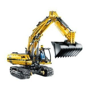LEGO TECHNIC  Motorized Excavator 8043: Toys & Games