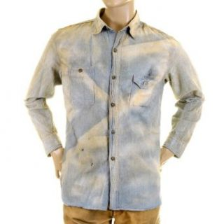 Shirt Sugar Cane SC25355H blue chambray work shirt CANE2834 at  Men�s Clothing store Button Down Shirts