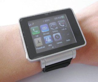 I3 UNLOCKED TOUCH SCREEN WATCH CELL PHONE  CAMERA GSM WATCH MOBILE BLUETOOTH IGN Beauty