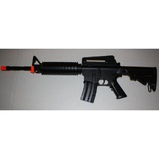 Heavy M4 M16 Replica Airsoft Gun Double Eagle M83 A2 Full Automatic Electric Rifle  Sports & Outdoors