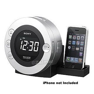 Sony Dream Machine FM/AM CD Clock Radio with Dock for iPod and iPhone™: Electronics