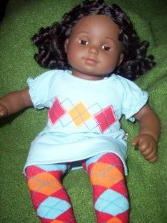 "American Girl Bitty Twins   African American Boy and Girl with ""Bitty Twins Learn to Share"" book: Toys & Games"