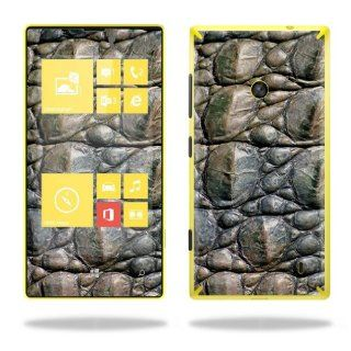 MightySkins Protective Vinyl Skin Decal Cover for Nokia Lumia 520 Cell Phone T Mobile Sticker Skins Gator Skin: Cell Phones & Accessories