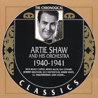 Artie Shaw 1940 1941: Music