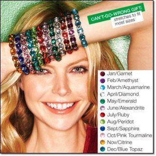 Avon Birthstone Color Expansion Bracelet August Peridot Beauty