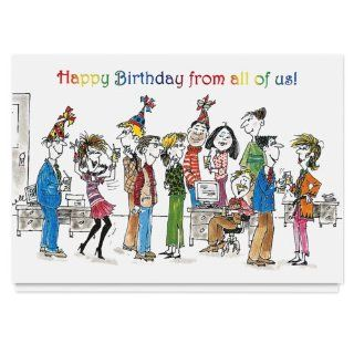 Let's Celebrate! Birthday Card   25 Premium Birthday Cards with Foiled lined Envelopes: Health & Personal Care