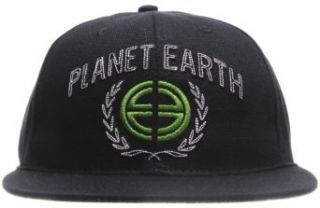 Planet Earth Logo Cap Black One Size at  Men�s Clothing store: Baseball Caps