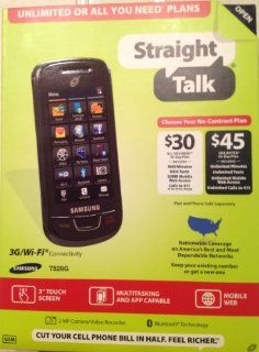 Straight Talk Samsung T528G Prepaid Touchscreen Cell Phone Cell Phones & Accessories