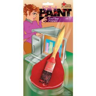 Fake Paint Brush Spill: Patio, Lawn & Garden