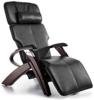 Zero Gravity Chair Inner Balance Recliner with Vibration Massage   Black Electric Power Recline ZG551 with Steel and Wood Base   The Zero Anti Gravity Chair ZG 551   Adjustable Home Desk Chairs