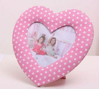 heart shaped photo frame by babyface