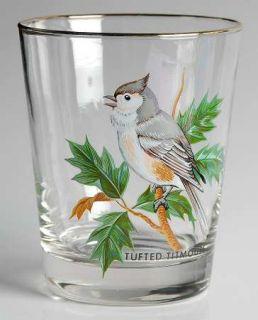 West Virginia Glass Specialty American Songbirds 16 Ounce Flat Tumbler   Various