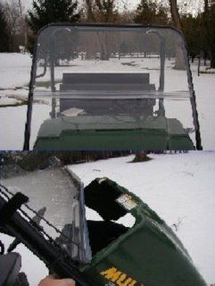 Extreme Metal Products Kawasaki Mule 3000 and 3010 (2001 2008) Full Windshield. 9653: Automotive