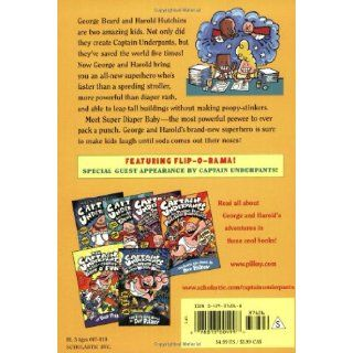 The Adventures of Super Diaper Baby: George Beard, Harold Hutchins, Dav Pilkey: 9780439376068:  Children's Books