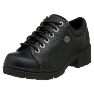 Harley Davidson Women's Tia Lace Up Shoe,Black,11 M Shoes