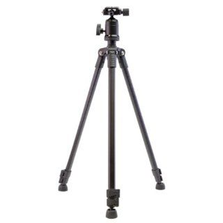 Dolica AX570B001 57in Featherweight Aluminum Tripod with Ball Head, (Black)  Tripod With Quick Release Plate And Ball Head  Camera & Photo