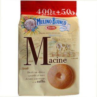 Macine Mulino Bianco 400 Gr ( 14.3 Oz.)  Biscuits Gourmet  Grocery & Gourmet Food