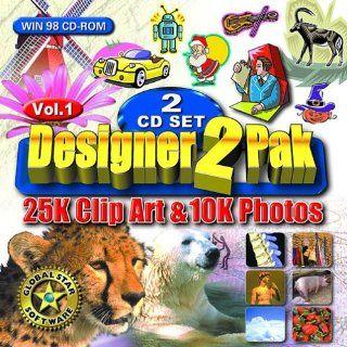 10,000 Photos  25,000 Clipart: Software