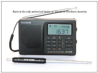 Tecsun PL 606 Digital PLL Portable AM/FM Shortwave Radio with DSP, Black Electronics