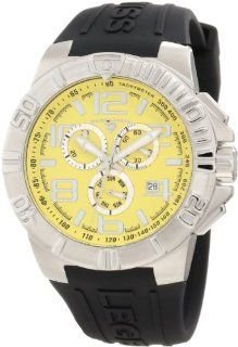 Swiss Legend Men's 40118 07 Super Shield Chronograph Yellow Dial Watch at  Men's Watch store.