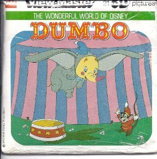 Disney's Dumbo 3D View Master 3 Reel Set   Made in USA Toys & Games