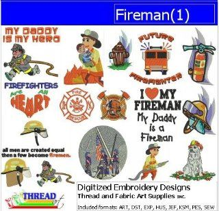 Digitized Embroidery Designs   Fireman(1)   CD