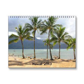 2013 Hawaii Calendar