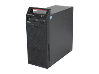 Lenovo ThinkCentre Edge 72 3484HPU Desktop Computer   Intel Core i3 i3 3220 3.3GHz   Tower   Glossy Black   Windows 7 Professional