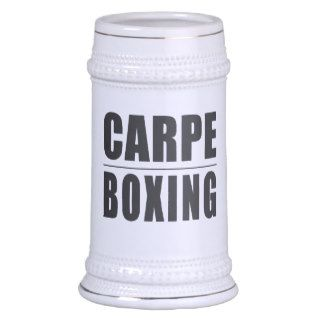 Funny Boxers Quotes Jokes : Carpe Boxing Coffee Mug