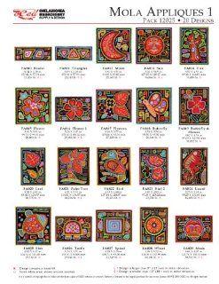OESD Embroidery Machine Designs Mola Appliques #12025