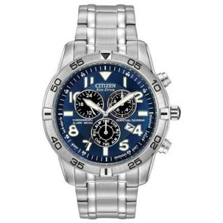 Mens Citizen Eco Drive™ Perpetual Calendar Chronograph Watch with