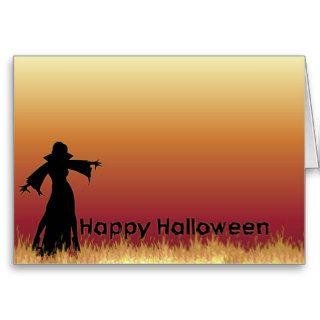 Vampire Happy Halloween Card