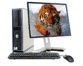 "Dell optiplex Gx620 Desktop Fast Intel P4 HT 3.2GHz/ 2GB Ram/ 80GB HDD/ DVDRW/ Restore CD/ Dell Keyborad/ Dell Optical Mouse/ 19"" LCD Monitor : Desktop Computers : Computers & Accessories"