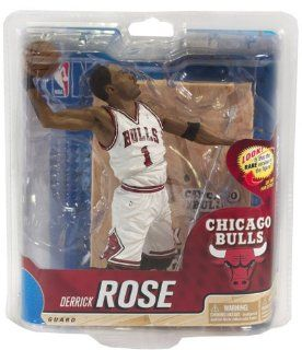NBA Chicago Bulls McFarlane 2012 Series 20 Derrick Rose (2) Action Figure : Sports Fan Toy Figures : Sports & Outdoors