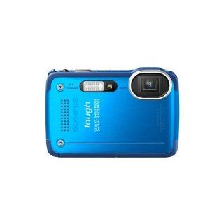 Olympus Tough TG 630 iHS 12 Megapixel Compact Camera   Blue   3 LCD   5x Optical Zoom   Optical Electronic (IS)   3968 x 2976 Image   1920 x 1080 Video   HDMI   PictBridge   HD Movie Mode : Vehicle Electronics : Car Electronics