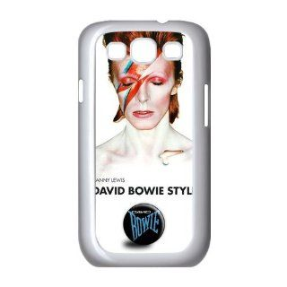 Custom David Bowie Cover Case for Samsung Galaxy S3 III i9300 LSM 1134: Cell Phones & Accessories