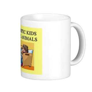 autism autistic kids love animals cats dogs mugs