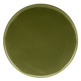 Zak Designs Savannah 11 Inch Dinner Plate, Set of 4, Green: Kitchen & Dining