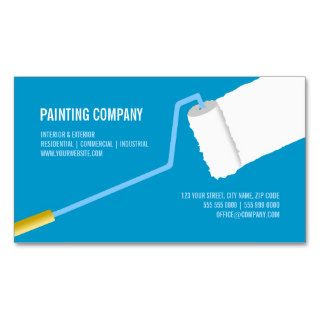 Painting Company / Contractor business card