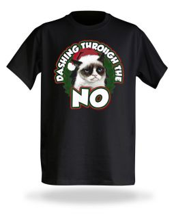 Grumpy Cat Christmas Tee