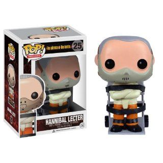 """Hannibal Lecter ~4"""" Funko POP Horror Movies x The Silence of the Lambs Vinyl Figure Toys & Games"""